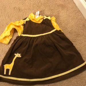 Gymboree onesie and matching dress